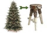 als je kerstboom het niet haalt ...