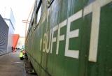 NU HIER: een trein!
